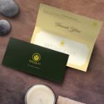 Gift Certificate Holder